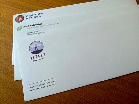 9x12 linen envelope