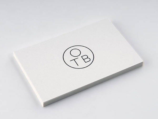 Uncoated Business Cards Bracha Printing