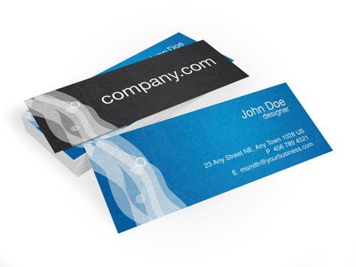 "Slim Business Cards (1.5"" x 3.5"")"