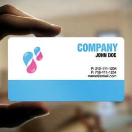 Oval business cards cheap oval cards solid plastic business cards reheart Gallery