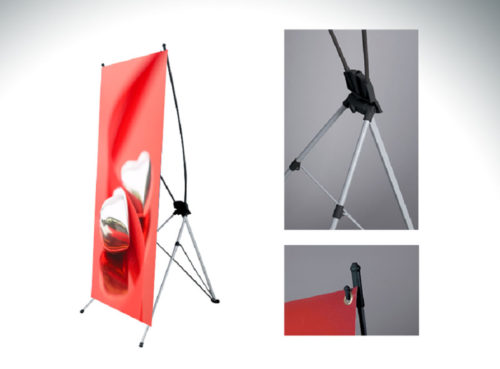 """X-Stand Banner 24"""" x 63"""""""