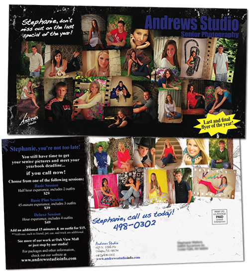 6 x 11 Postcards