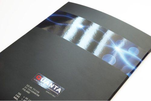 Presentation Folder with Spot UV Gloss