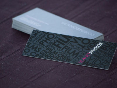 Slim Silk Business Cards