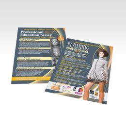 thick flyer printing