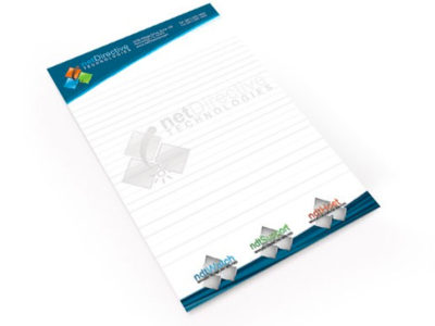 "Custom 4"" x 6"" Notepad Printing"