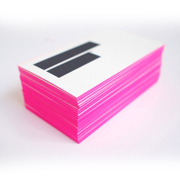 28 mar thick colored edge business cards - Colored Edge Business Cards