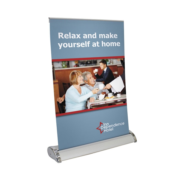 Tabletop Retractable Banner 15 75 Quot X 32 Quot Bracha Printing